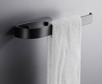 Space Aluminum Brushed Gold Towel Bar Holder Wall Mounted Towel Bar Ring 33cm