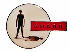 UFO SHADO Gerry Anderson TV Series Logo Enamel Pin