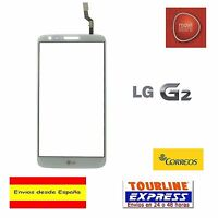 PANTALLA TACTIL DIGITALIZADOR CRISTAL PARA LG G2 D802 D805 COLOR BLANCO