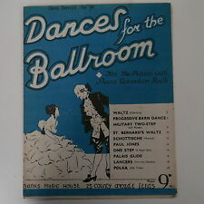piano DANCES FOR THE BALLROOM  , gem series 76