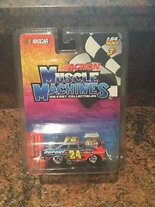 1:64 Jeff Gordon DuPont Chevy MUSCLE MACHINES BLOWN / SUPERCHARGED