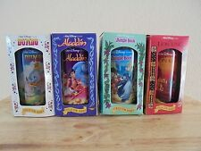 Vintage Walt Disney Classic Collectors Series Glasses by Burger King - Set of 4