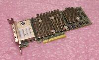 Dell LSI SAS 1V1W2 01V1W2 Quad Port Low Profile H3-25553-00E PCI-E HBA Card