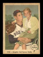 1959 Fleer #64 Ted Williams Daughter and Daddy EX X1577384