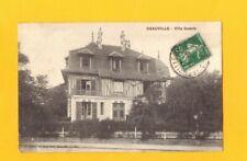 "DEAUVILLE (14) Façade de la VILLA ""GUDULE"" en 1911"