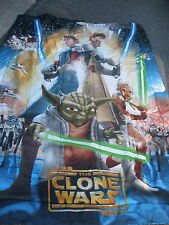 Star Wars Clone Wars Comforter twin size excellent condition