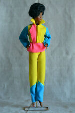 Vintage Barbie Clone Neon Sportwear Outfit, Jogger Jacket and Pants