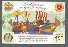 Isle of Man-Millenium Tapestry booklet complete mnh-Vikings-Art-