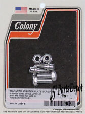 Harley 58-E62 XLCH Magneto Adapter Plate Screw Kit 29601-48 Cad Colony 2884-6