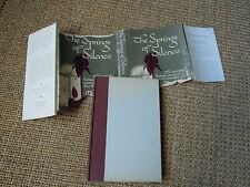 The Springs of Silence, Madeline DeFrees, 1953, 1st Ed. Signed by Author, Rare