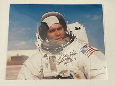 More details for fred haise signed photo - nasa astronaut - apollo 13
