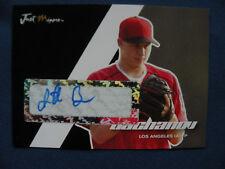 2008 Just Minors R/C autograph Jonathan Bachanov L.A. (A) #02 $1 S&H baseball