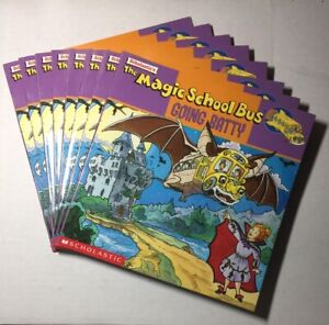 8 Each Magic School Bus Going Batty - Paperback By Joanna Cole