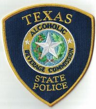 Texas State Police Alcoholic Beverage Commission TX Texas Police Patch