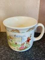 BUNNYKINS ROYAL DOULTON BONE CHINA CUP EXCELLENT CONDITION