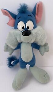 Tiny Toon Adventures FURRBALL Plush Stuffed Animal Cat Furball Playskool 1990