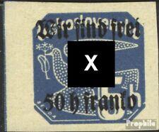 Rumburg (Sudetenland) 25 postfris 1938 Afdrukken de Duits. Feestje