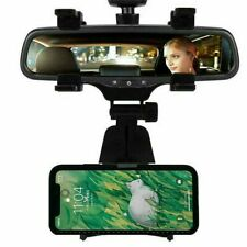 Universal Auto Car Rear-view Mirror Mount Holder For Cell Phone iPhone Galaxy