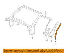 Chevrolet GM OEM 05-13 Corvette Roof-Applique Retainer Right 10380654