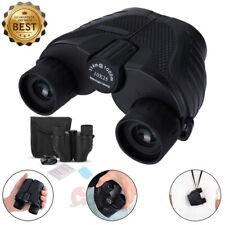 Day/Night 10x25 Military Zoom Powerful Binoculars Optics Hunting Camping +Case