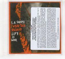 (HF434) L.A. Salami, I Wear This Because Life Is War! - 2014 DJ CD