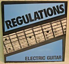 REGULATIONS Electric Guitar LP PUNK ROCK Melodic Hardcore BLACK VINYL Umea DS13