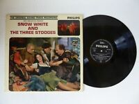 Snow White and The Three Stooges Original Soundtrack Vinyl LP Philips BBL 7504