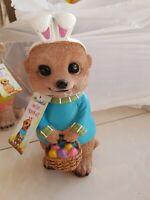 Easter bunny hunter Meerkat By Mirabella  Costume garden home decoration