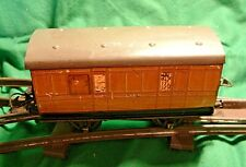 Hornby Trains. O Gauge. LNER.  Express Guards Van. Teak Livery. Fair condition.