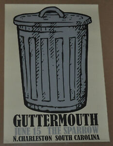 June 15 The Sparrow Guttermouth Silk Screen Poster by Proton 23/30