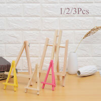 Mini Artist Wood/Plastic Easel Painting Work Advertisement Display Stand