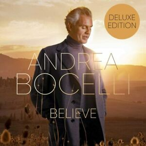 ANDREA BOCELLI - BELIEVE -  CD DELUXE EDITION *NEW & SEALED*
