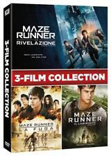 MAZE RUNNER BOXSET 3 FILM COLLECTION (3 DVD) COFANETTO UNICO, ITALIANO