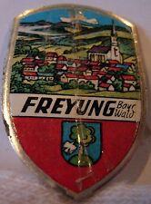 Freyung used badge mount stocknagel hiking medallion G5484