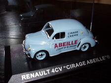 voiture 1/43 IXO  Camionettes Publicitaire RENAULT 4CV Cirage abeille PUBFR02