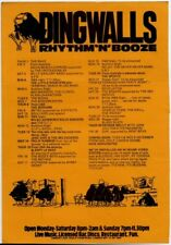 Little Roosters Bad Manners Screams Wilko Johnson Philip Ranbow Sports Flyer
