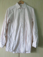 "mens MICHAEL KORS COTTON STRIPED SHIRT SIZE 15"" COLLAR REGULAR FIT"
