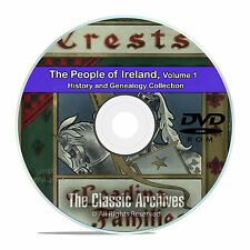Ireland Vol 1, People Cities Towns, History and Genealogy 134 Books DVD CD B40