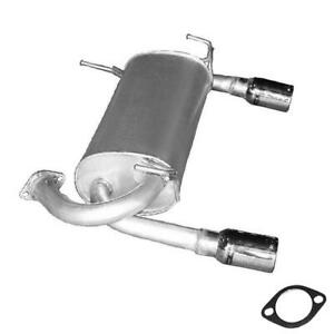 Exhaust Muffler fits: 2005-2008 Infiniti FX35 3.5L