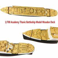 Para CY 700018 Academy Titanic Modelo 1/700 Cubierta de Madera + Cadena de Ancla
