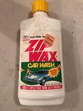 VINTAGE Turtle Wax Zip Wax Car Wash  18 oz