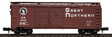 Walthers Great Northern 40' Steel Double Door Box Car #15208 Item #932-8305 N
