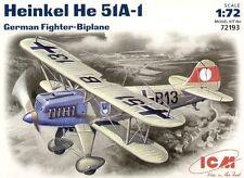 ICM 1/72 Heinkel He51 A-1 # 72193