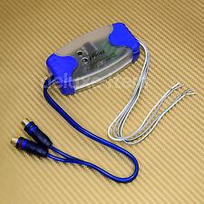 2 Channel RCA Hi/Lo Car Stereo Audio Line Level Converter Adpater Speaker Wire