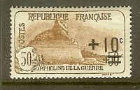 "FRANCE STAMP TIMBRE N°167 "" ORPHELINS LION DE BELFORT SURCHARGE "" NEUF xx TTB"