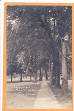 Childs Real Photo Postcard RPPC Lovers Lane Sterling IL