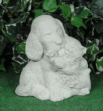 Kitty Cat Kitten With Pup Puppy Dog Latex Fiberglass Production Mold Concrete