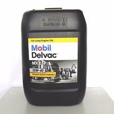 MOBIL DELVAC MX ESP 15W40 DA 20 LITRI OLIO MOTORE DIESEL CAMION FURGONE TRATTORE