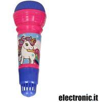 Microfono giocattolo unicorno Eddy Toys