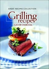 Great Recipes Collection Grilling Gas Carrie Holcomb HC Illust Free Ship